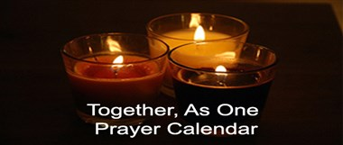Together, As One Prayer Calendar